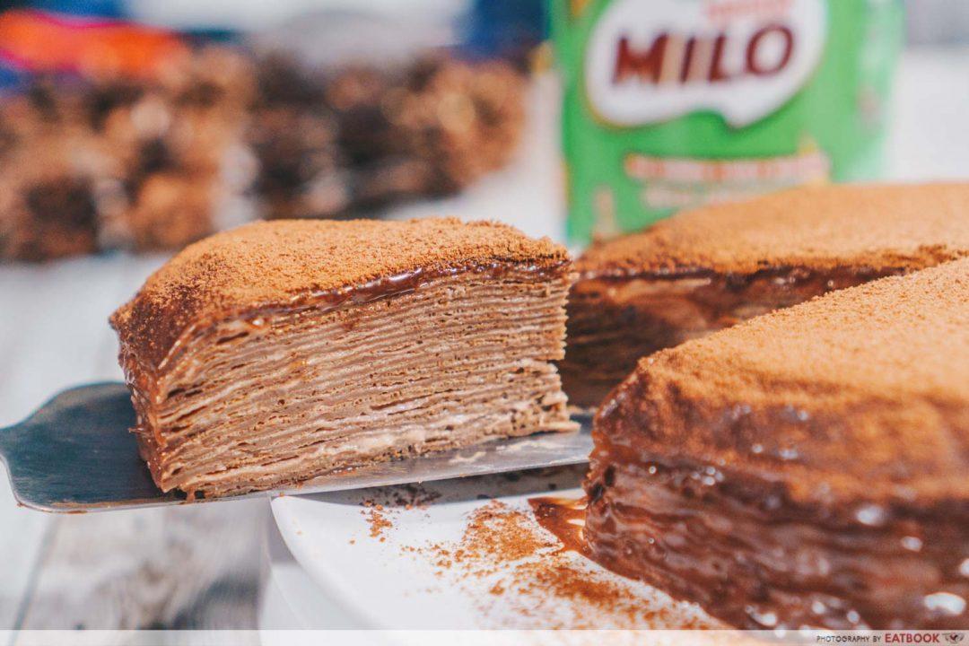 Milo Crepe Cake