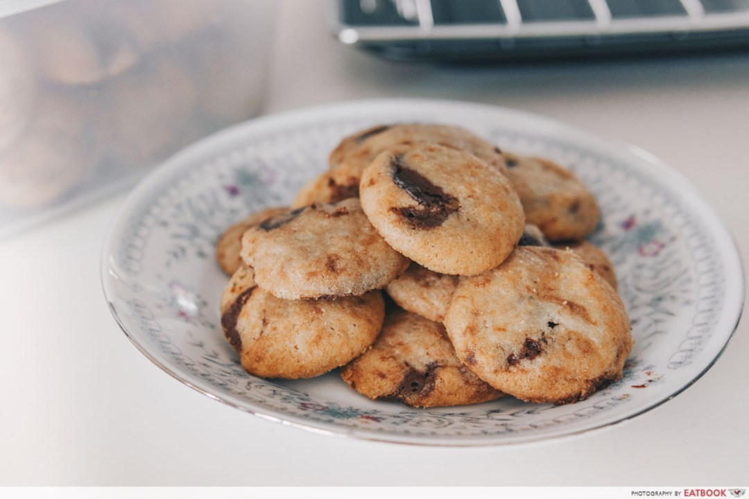 Recipes Famous Dishes - Famous Amos Cookies
