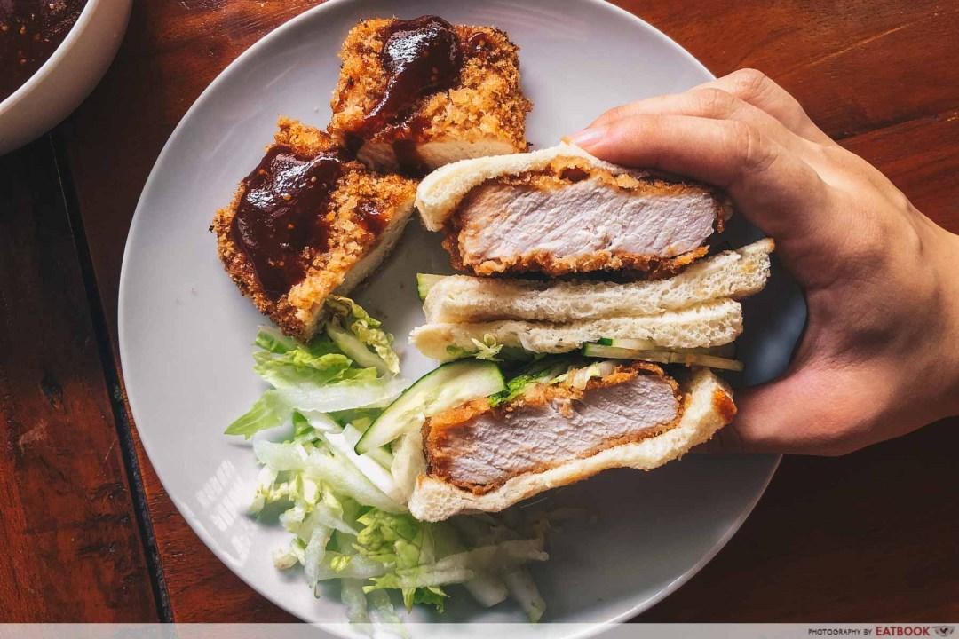 Sandwich Recipes - Baked Katsu Sandwich intro