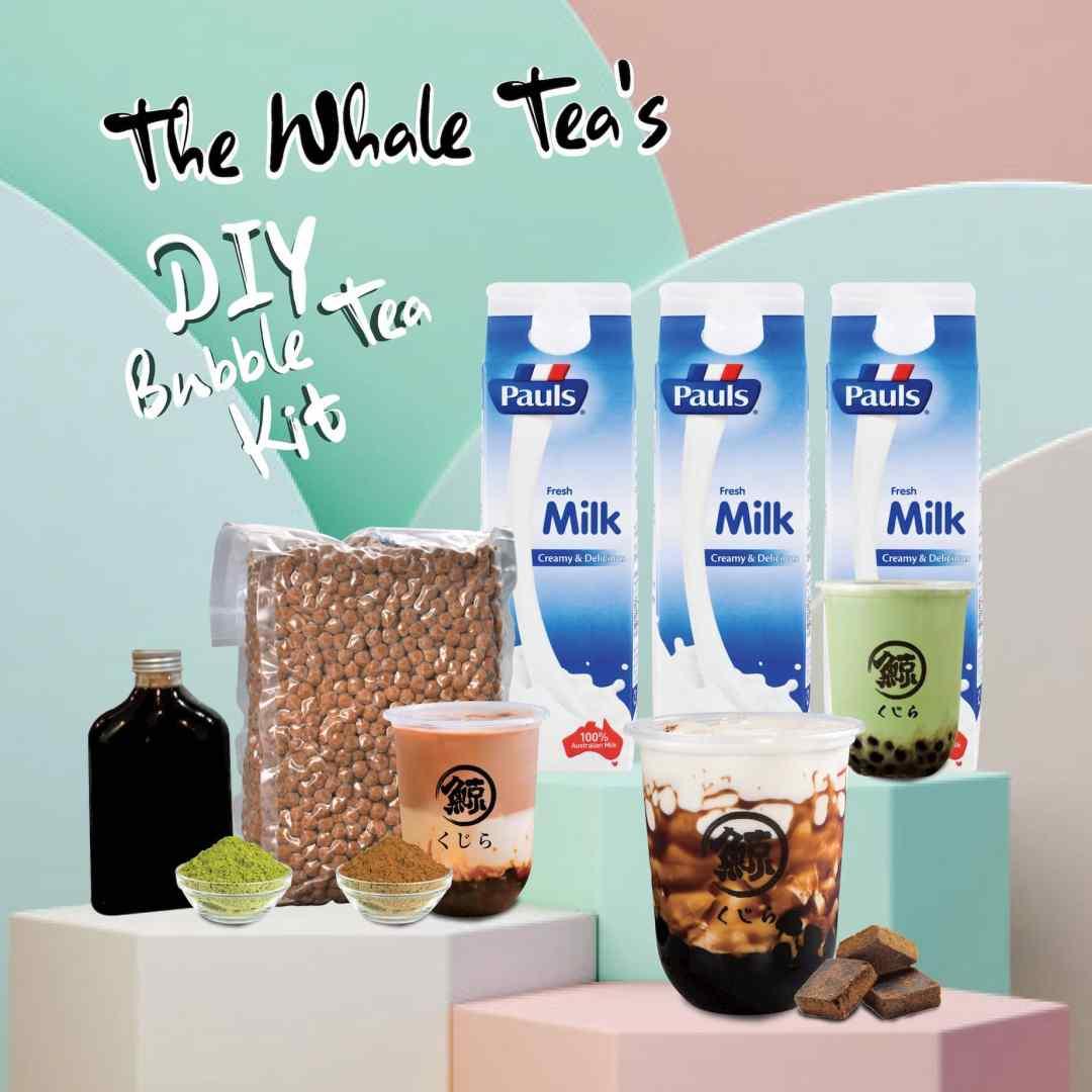The Whale Tea DIY Bubble Tea Kits - Starter Pack