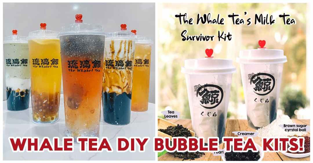 Whale Tea DIY Bubble Tea Kits - Feature Image