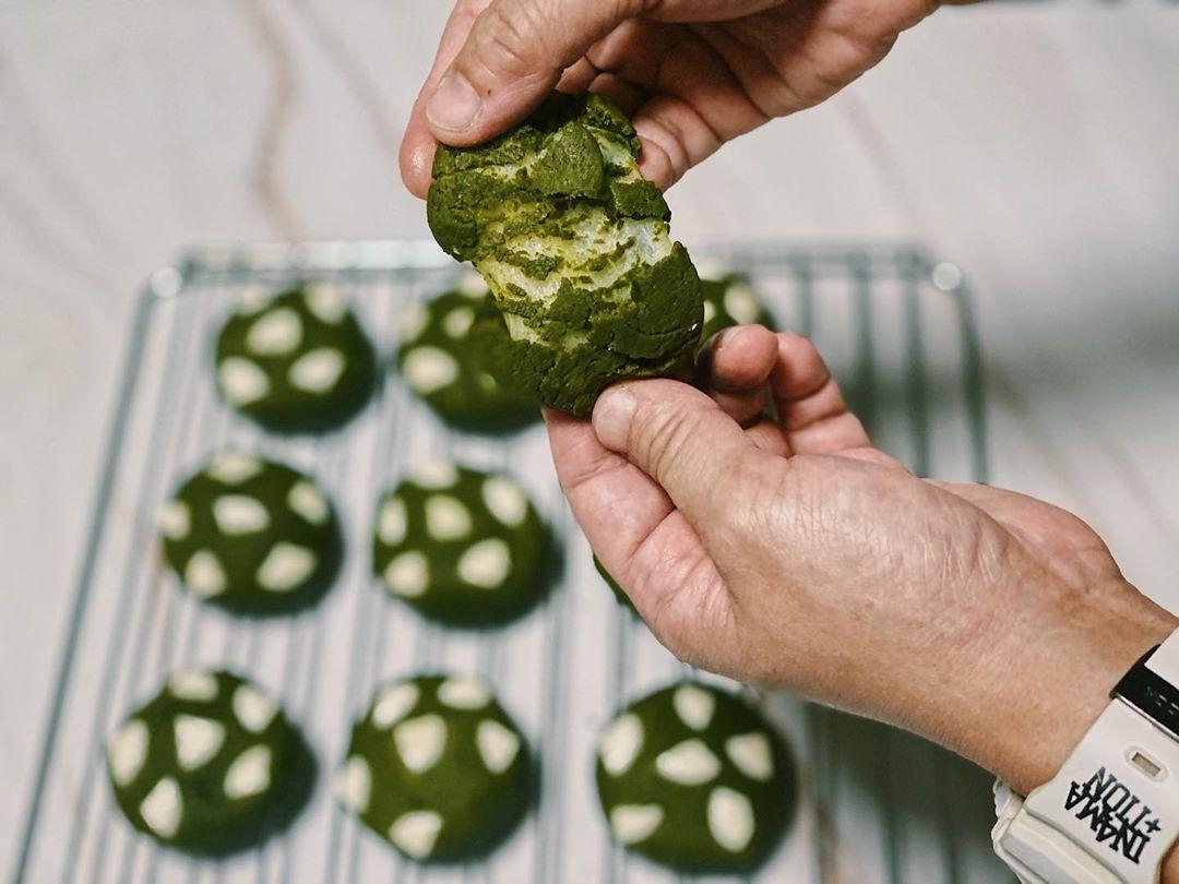 Cookie Recipes - Matcha Mochi Cookies