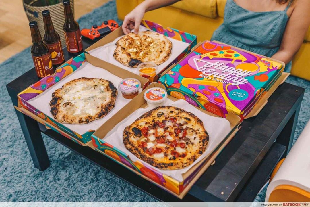Digital shilin singapore - Happy Ending Pizza Parlour