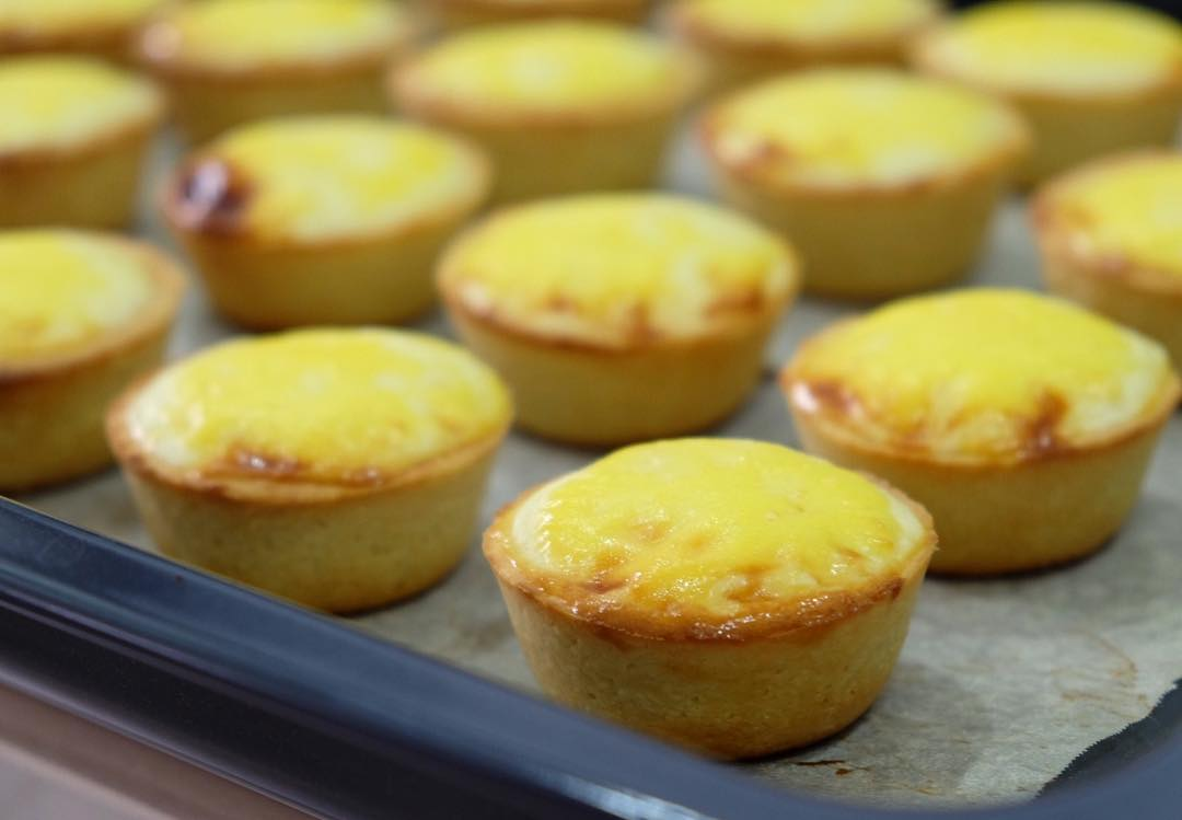 Durian Dessert Recipes - Durian Cheese Tarts