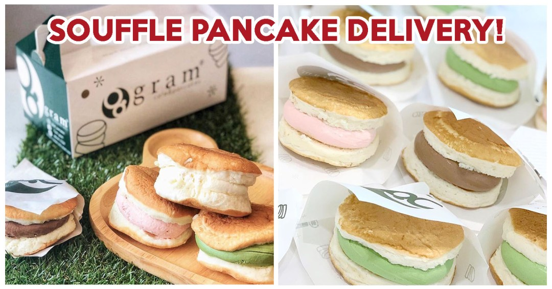 Gram Cake Pancakes Delivery - Feature Image