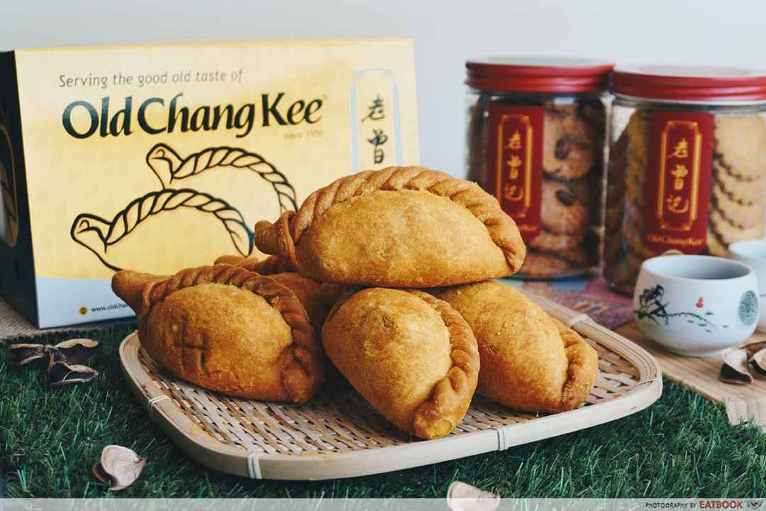 Old Chang Kee Camou Puffs - Curry Puffs