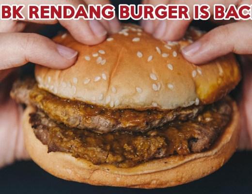 Burger King Rendang Burger