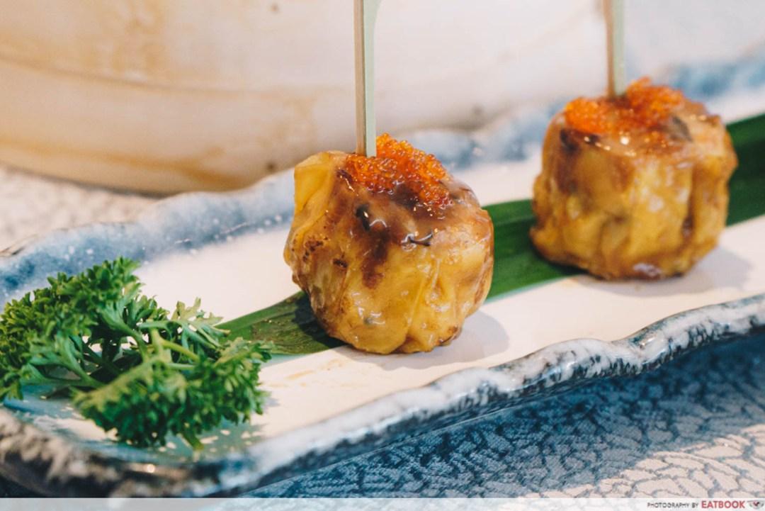 Paradise Group - foie gras siew mai