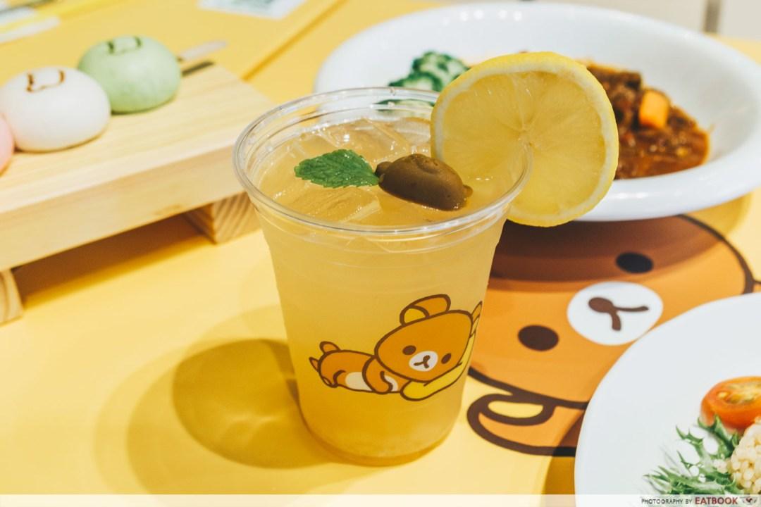 Yuzu Iced tea With Chocolate