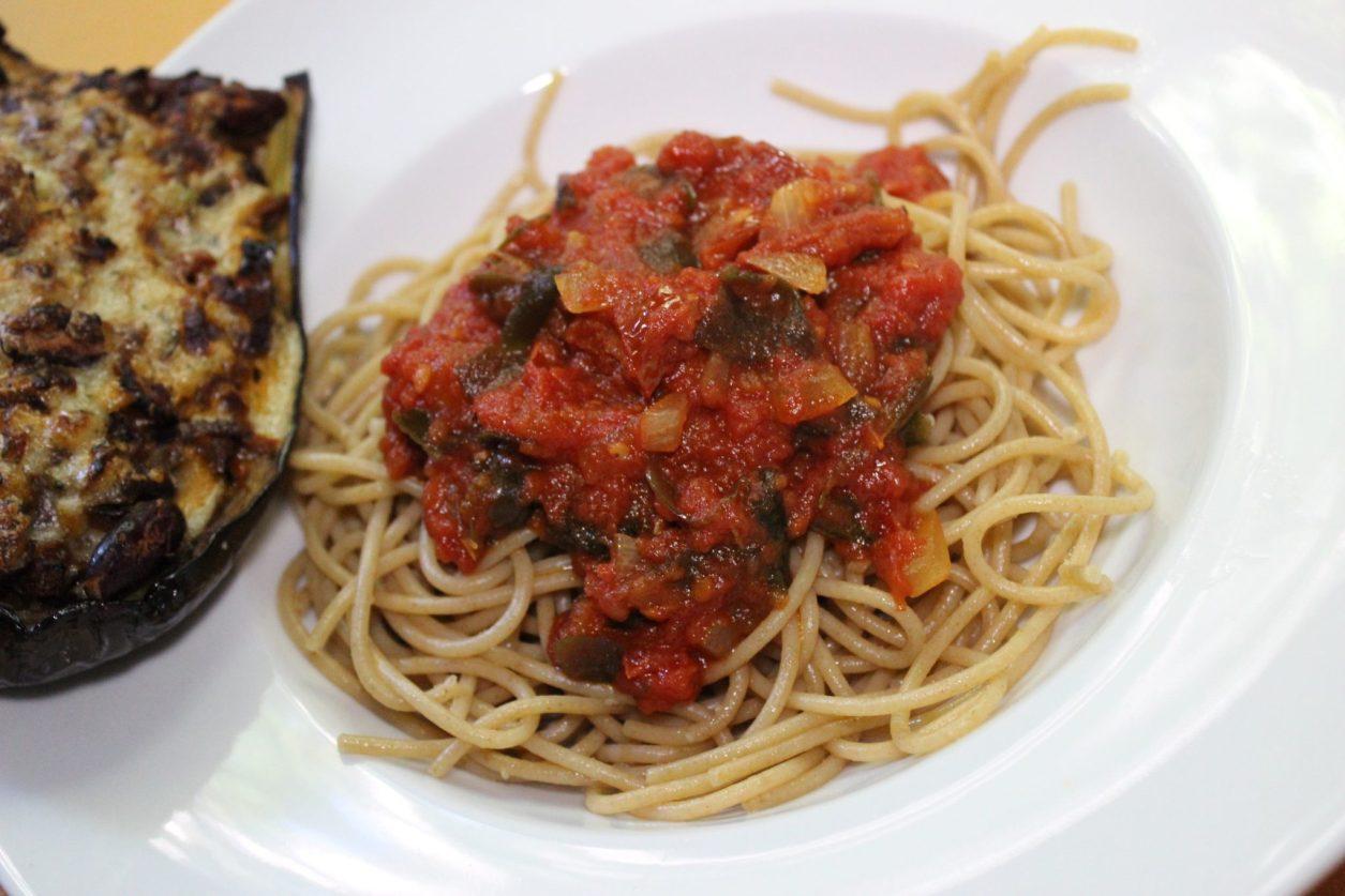 auberginen vegan