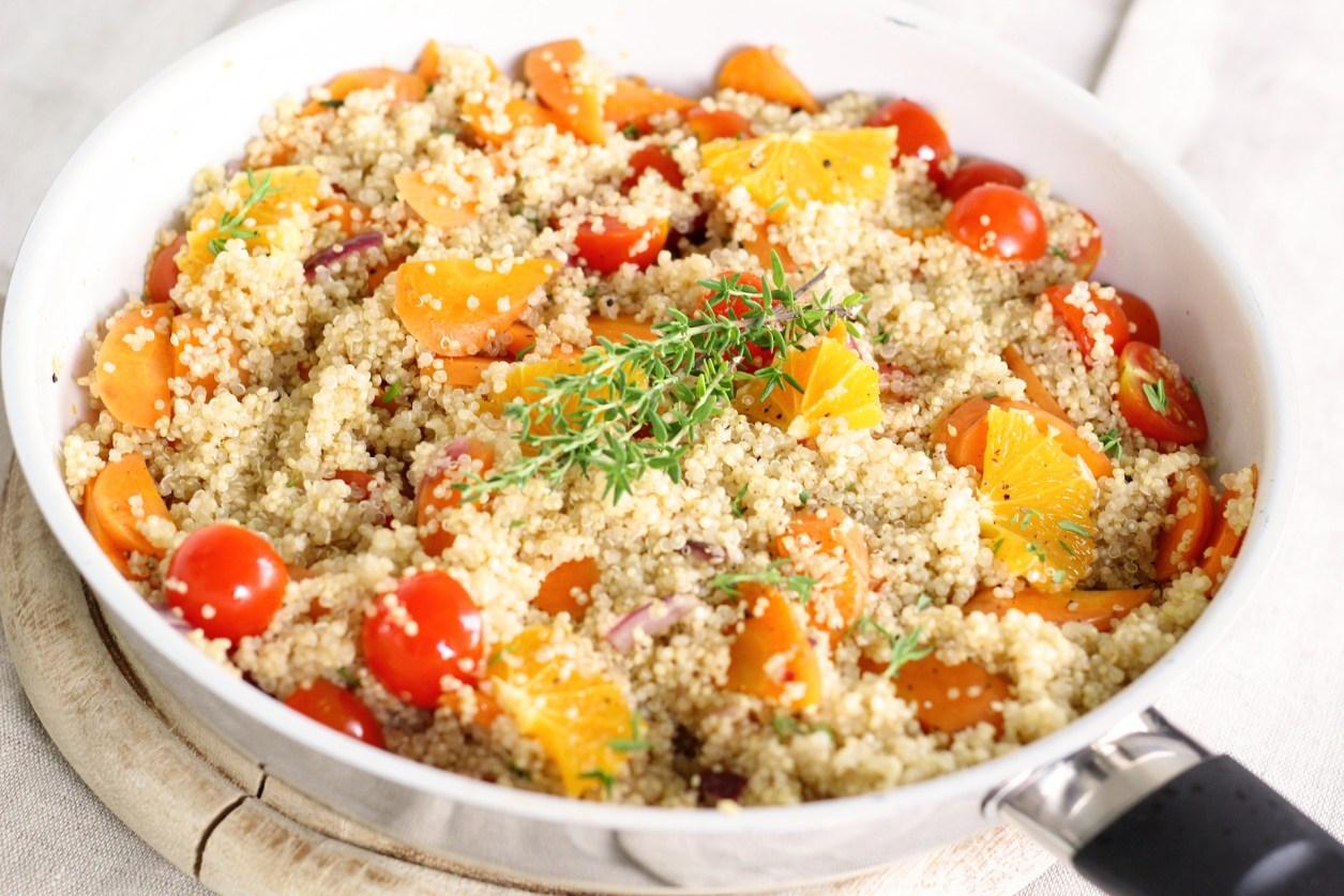 quinoa rezepte vegan