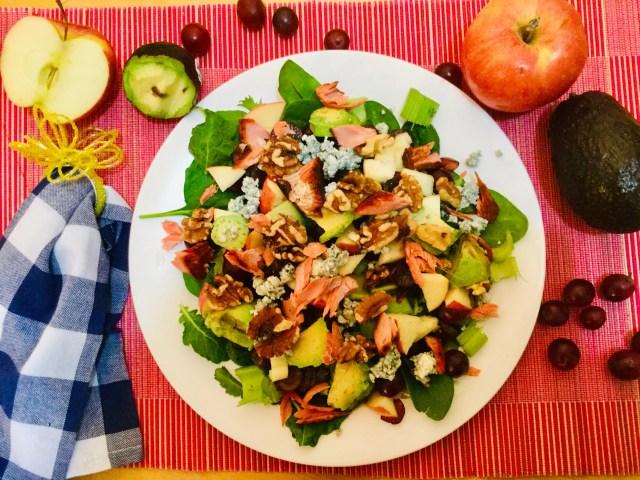 Waldorf Salmon Salad