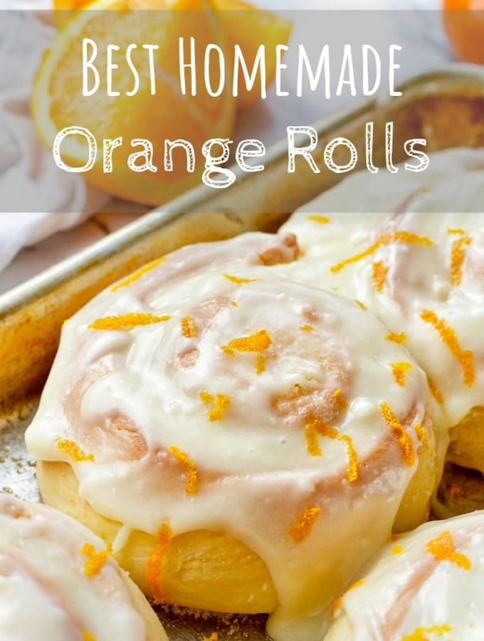 Best Homemade Orange Rolls