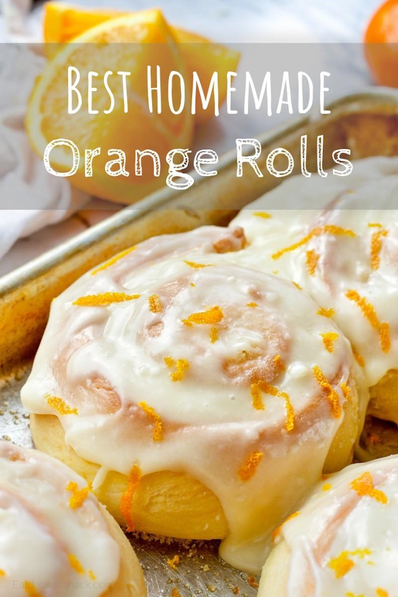 Orange Cinnamon Rolls