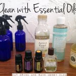 DIY cleaning & baby products with essential oils