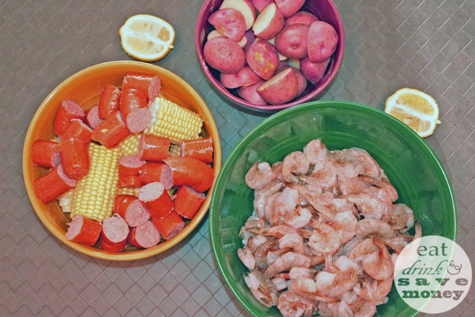 Low country shrimp boil is easy to make yourself. This is a simple recipe that will feed a crowd.
