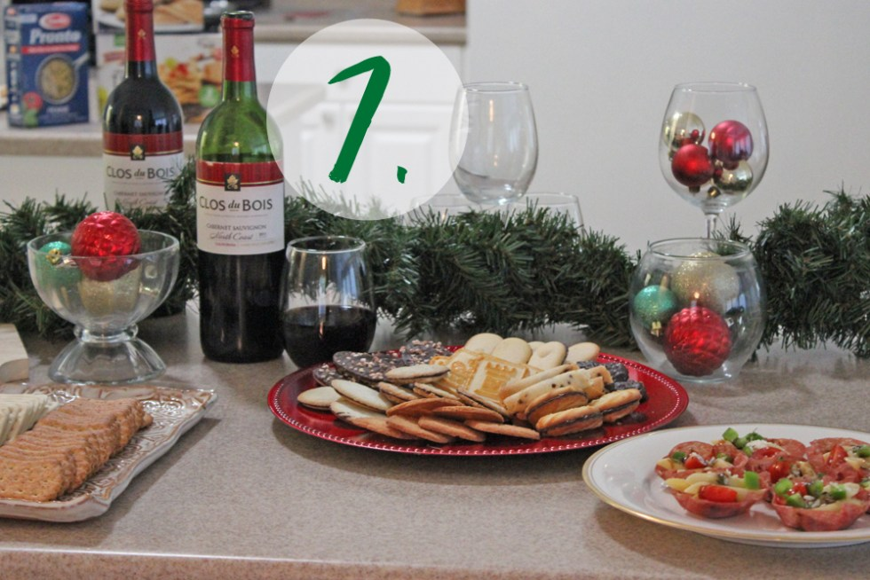 step 7 of hosting the perfect holiday party