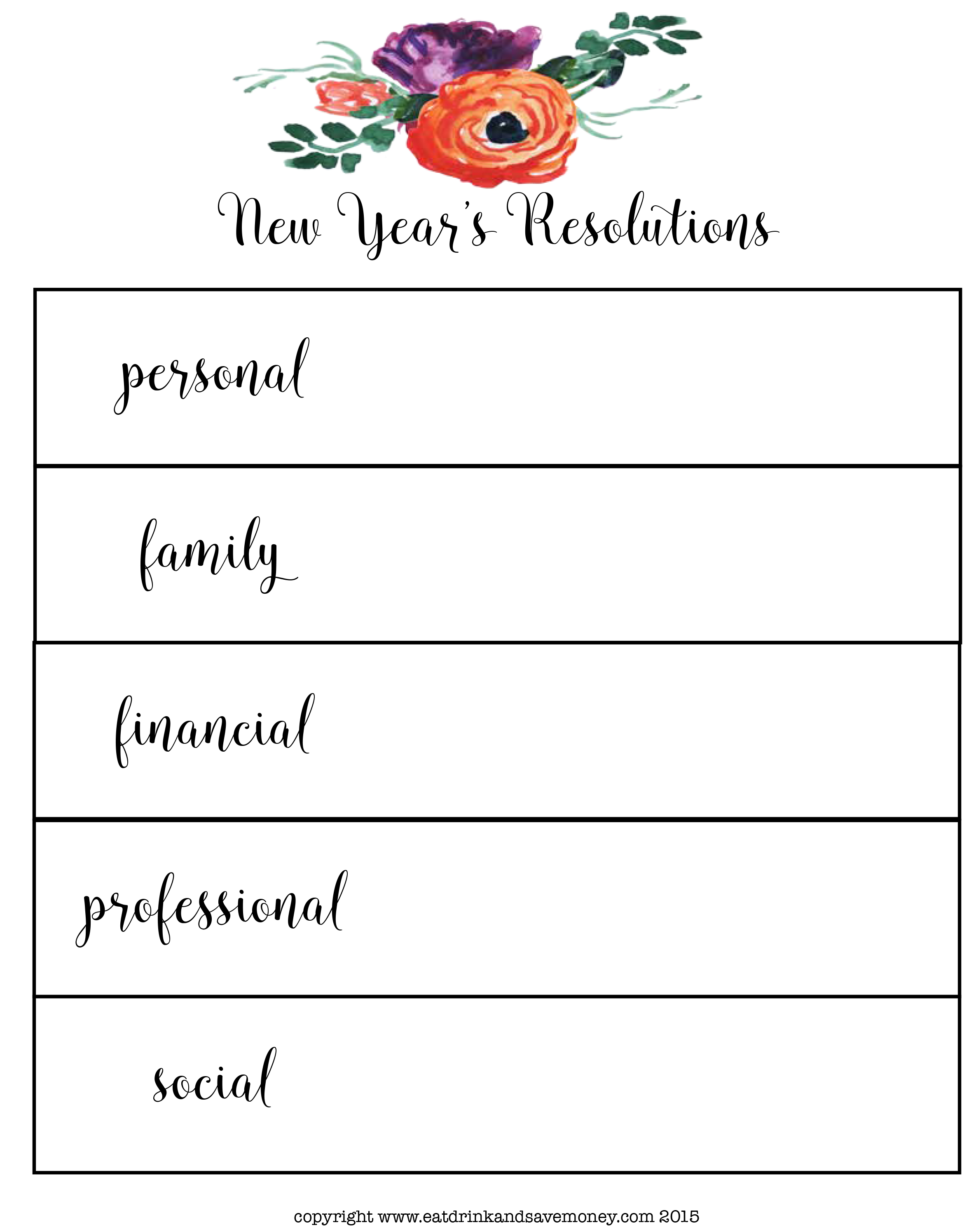New Year Worksheet For Kindergarten Math