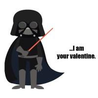 Printable Star Wars Valentines