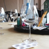 Craft Redux: DIY Painted Wine Glasses
