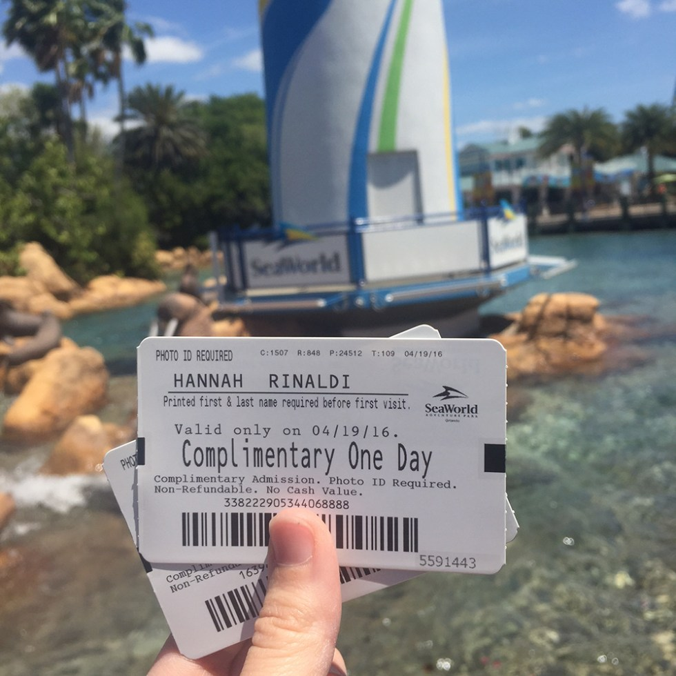 Sea World Ticket