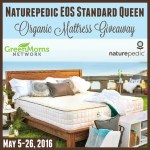 Naturepedic EOS Standard Organic Mattress Giveaway