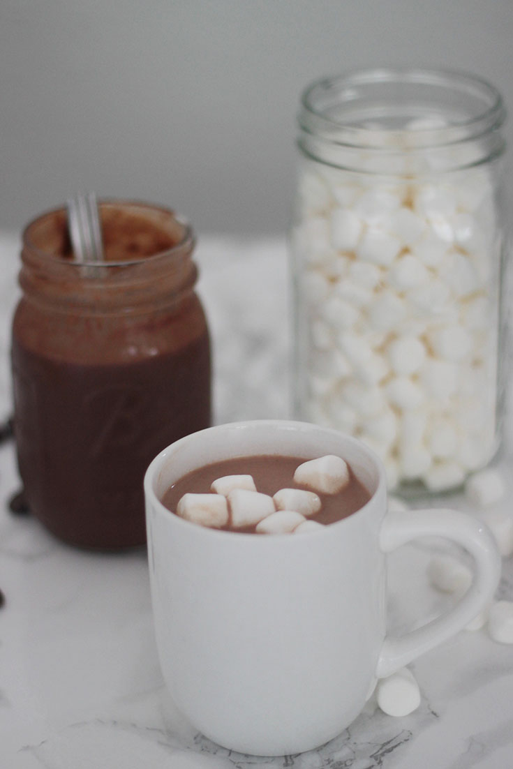 Ready for a blogger secret? This hot chocolate recipe is one that everyone loves. This is a recipe for concentrated hot chocolate sauce. It's perfect for a rainy or cold day!
