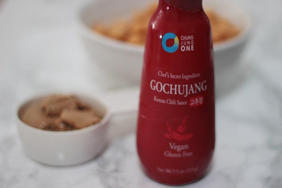 gochujang for asian hummus recipe