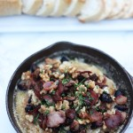 Bacon and fig baked brie recipe