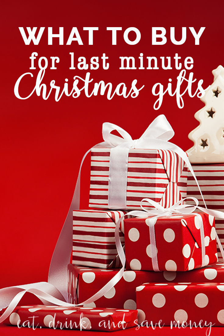Need a last minute Christmas gift? Check out these ideas!