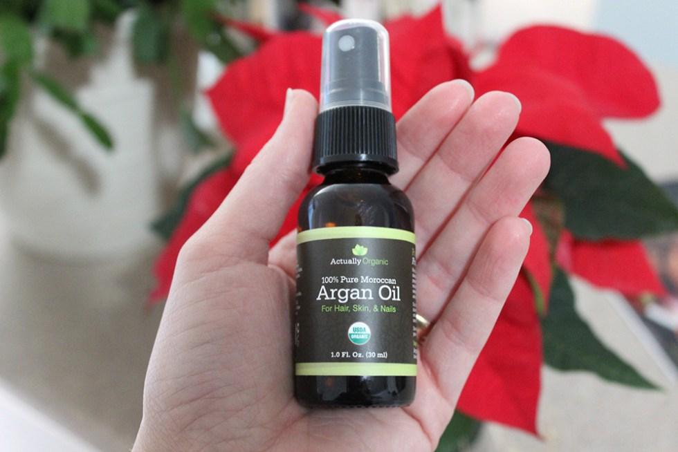 argan oil ActuallyOrganic Review