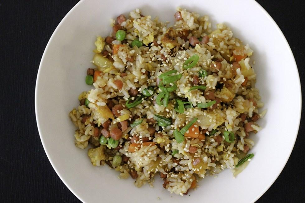 Pineapple Pork Fried Rice Recipe