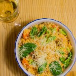 Mouth-Watering Slow Cooked Risotto with Turkey and Butternut Squash