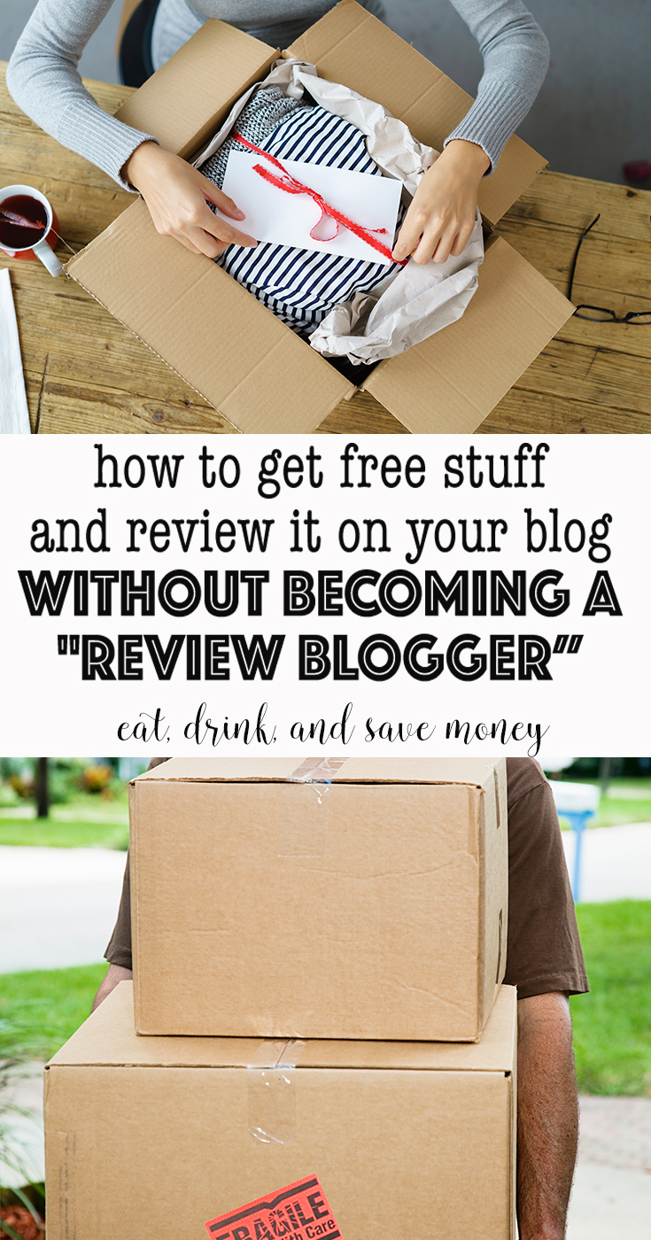 It's easy to get free stuff for your blog. This is how to get free stuff on your blog without becoming a review blogger