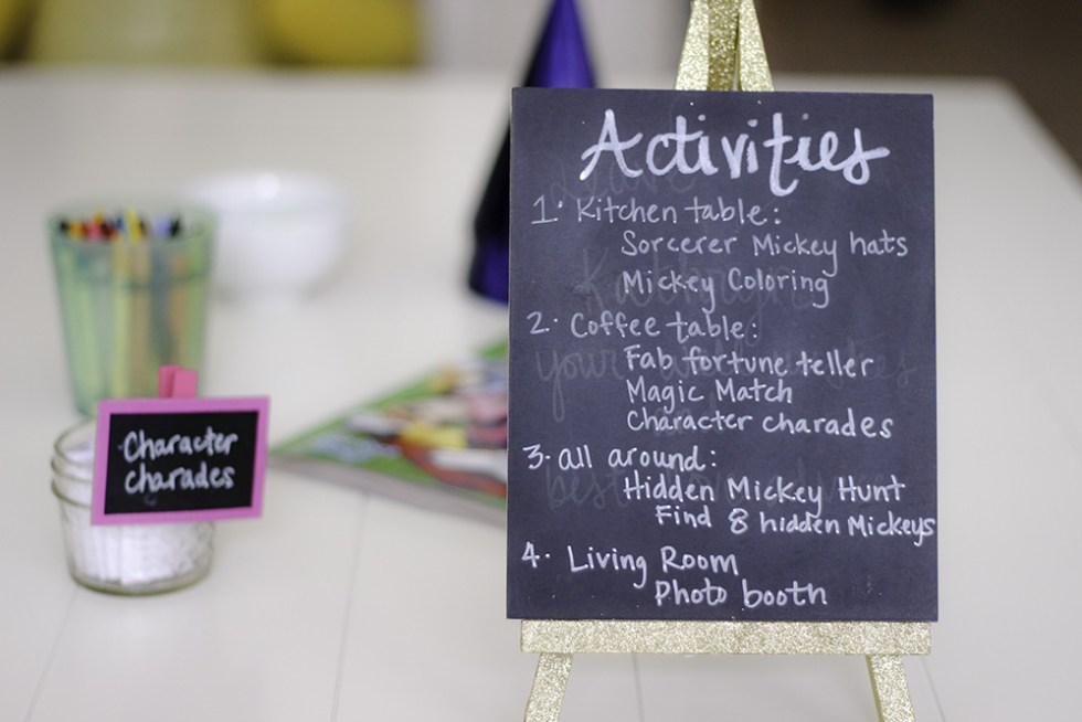Activities for the #DisneyKids Play date