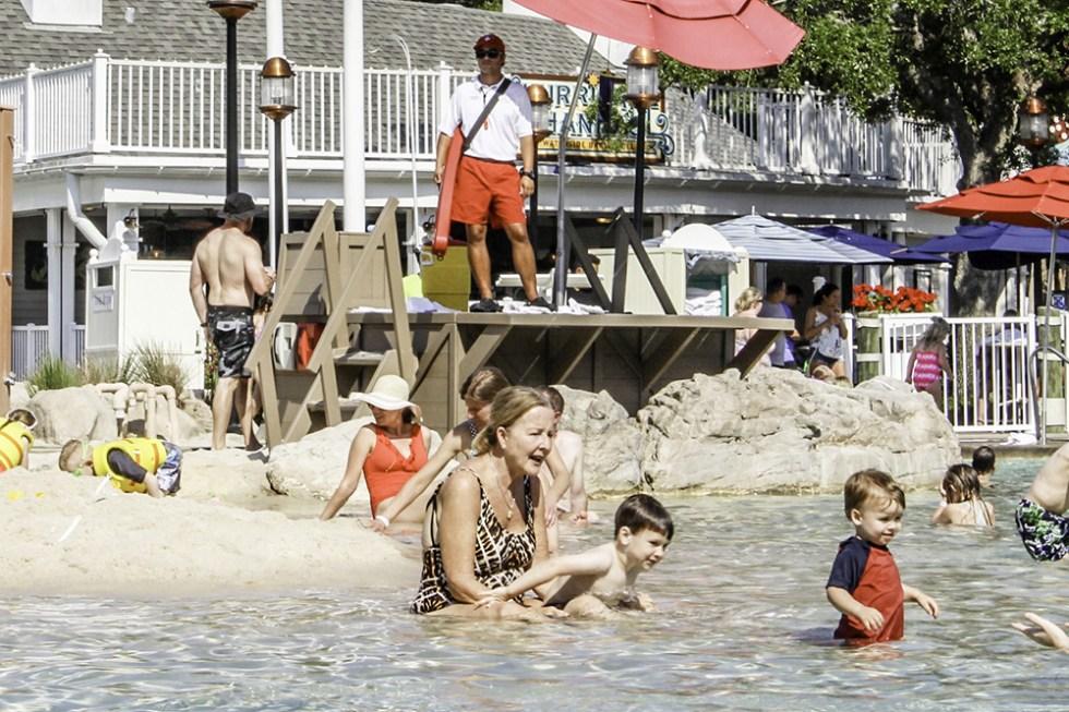 The pool at the Disney Beach Club Resort