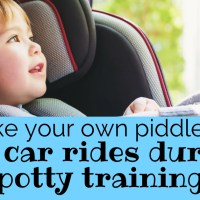 How to Protect a Car Seat While Potty Training: DIY Piddle Pad