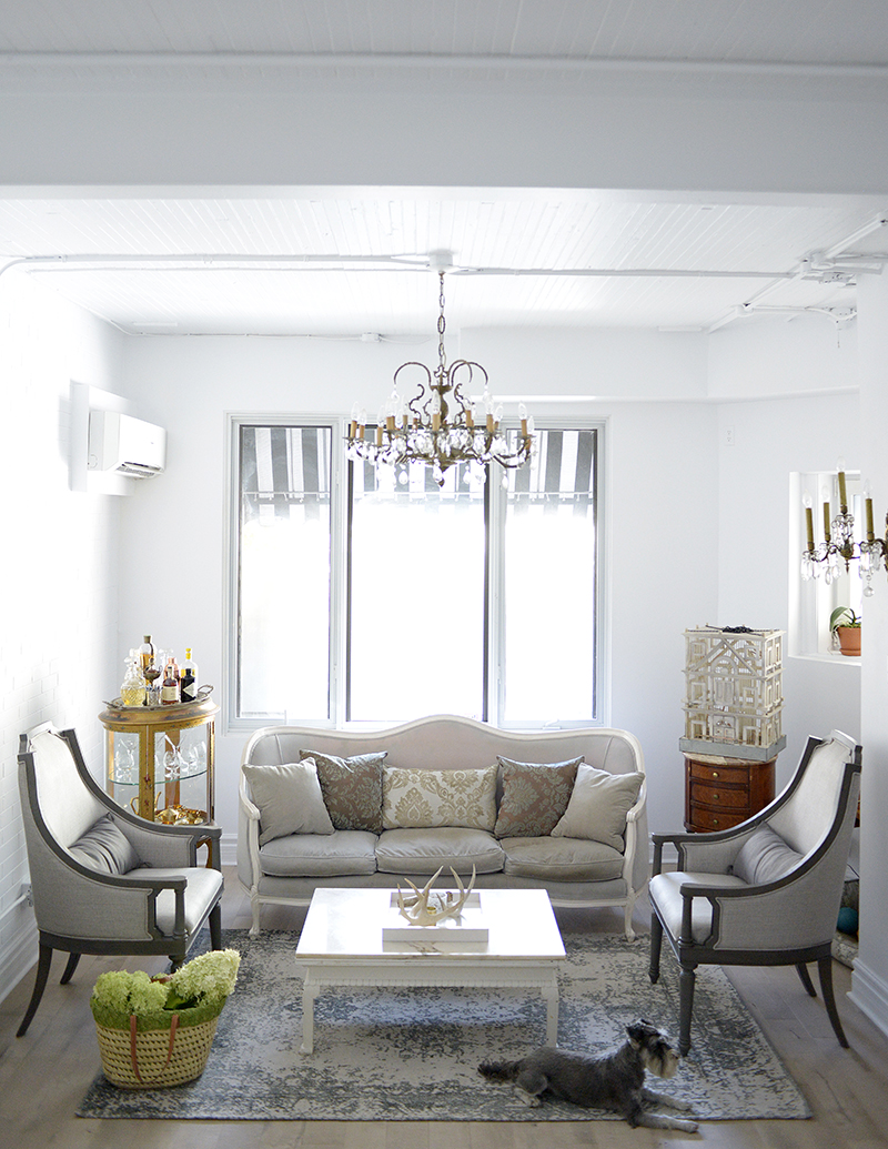 Living room Dining room makeover with Urban Barn  Eat