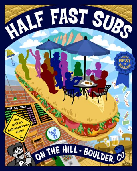 Fast Food Restaurants Boulder Co