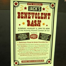 Tickets on sale now for 4th Annual Jack's Benevolent Bash