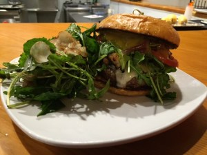 """The People's Burger does not mind if you call it a """"glorified bacon cheeseburger."""""""