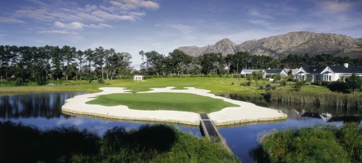 Get some fresh air on Steenberg's famous golf course