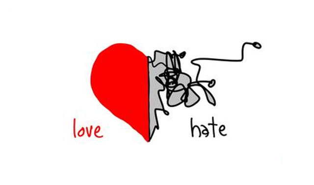 Heavy footprints of love and hate  (1/5)