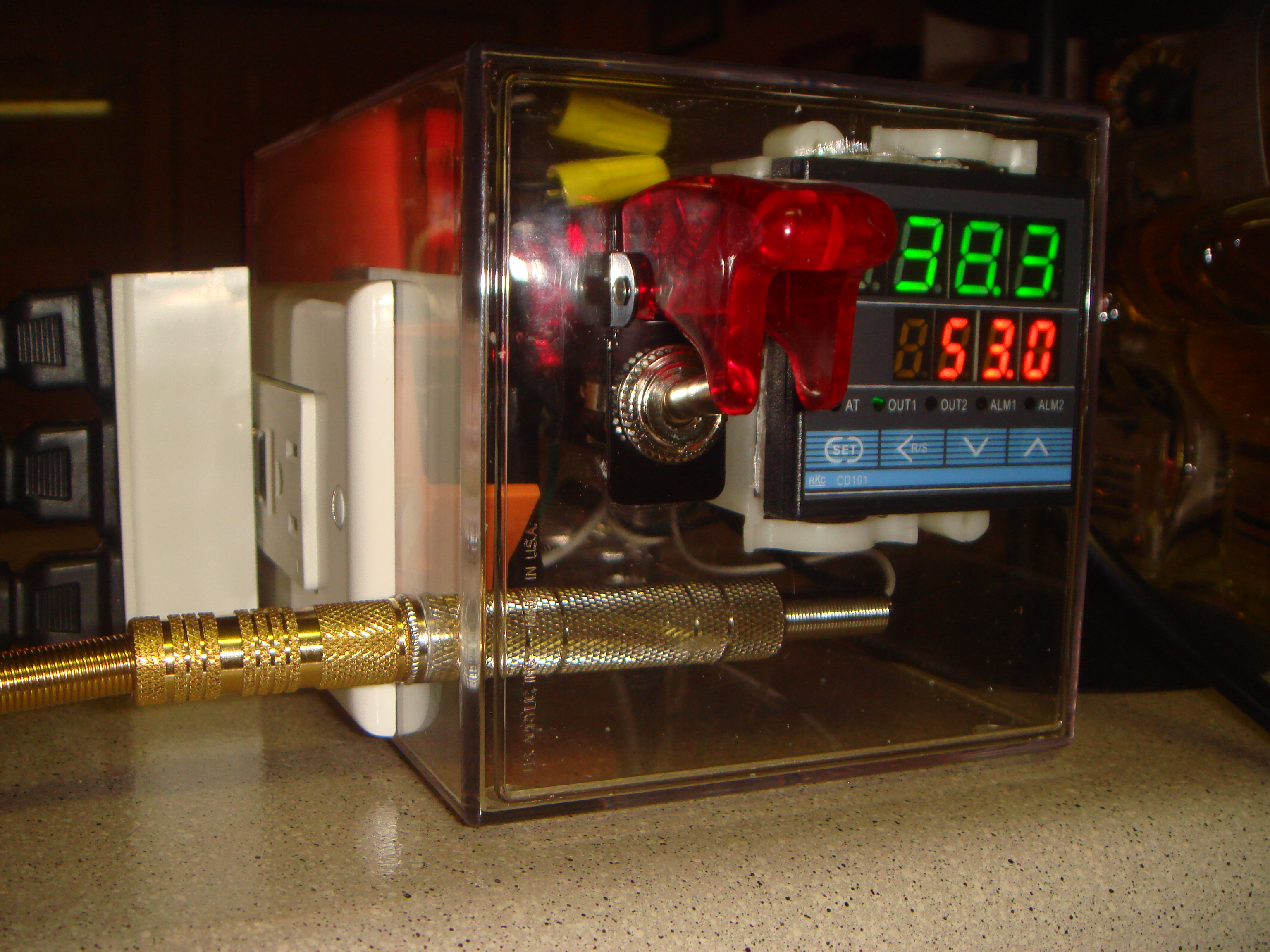 Wiring The Jld 612 Pid Controller With Solid State Relay Eat Drink