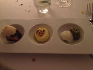 Trio of Indonesian desserts