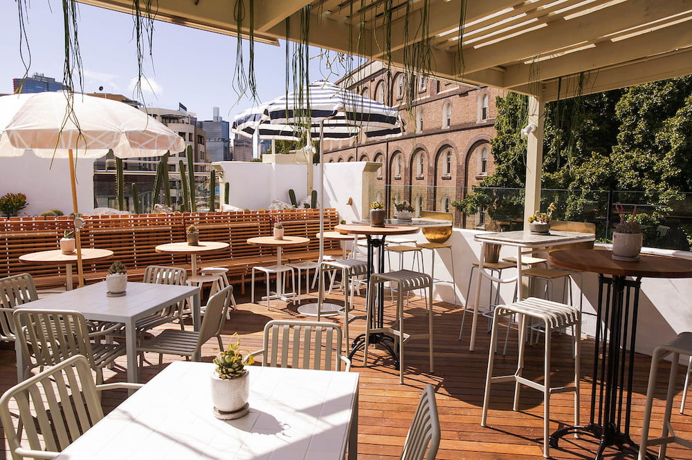 The Rooftop at Quarrymans Hotel Pyrmont  eatdrinkplay