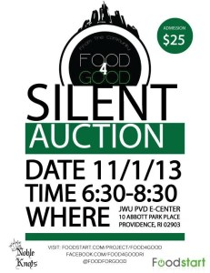 Food4Good Fundraiser and Silent Auction