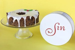 Sin's New England Fruitcake