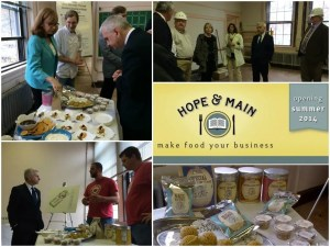 Reed Visits Hope & Main Culinary Incubator, Announces $30 Million Grant Opportunity for Local Food Enterprises