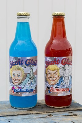 Yacht Club Bottling Works's Hillary's Liberal Limeade and Donald's Populist Punch